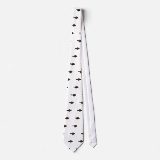 Summer Flounder (titled) Tie