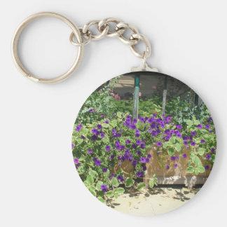 summer flower box keychain