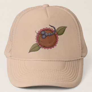 Summer Flower Dragonfly Trucker Hat