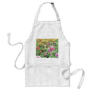 Summer Flower Garden Adult Apron