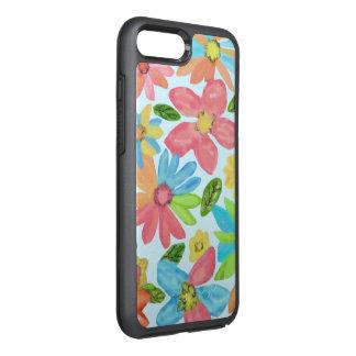 Summer Flower Pattern OtterBox Symmetry iPhone 7 Plus Case