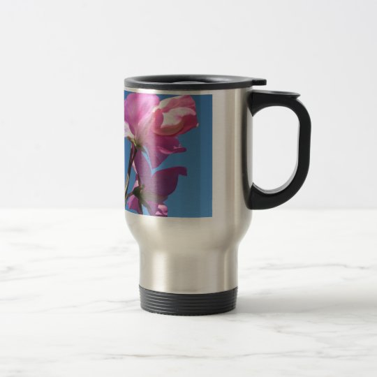 Summer Flower Travel Mug