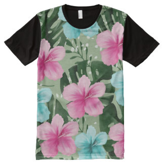 Men's Clothing - summer flowers All-Over-Print T-Shirt