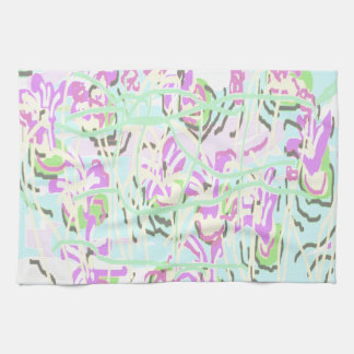 Summer Flowers by Carole Tomlinson Towel