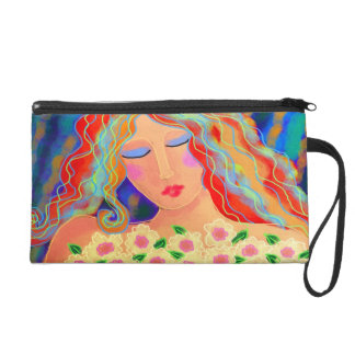 Summer Flowers Clutch Purse