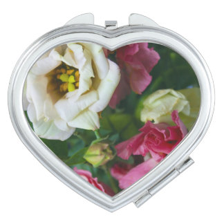 Summer Flowers Compact Mirror
