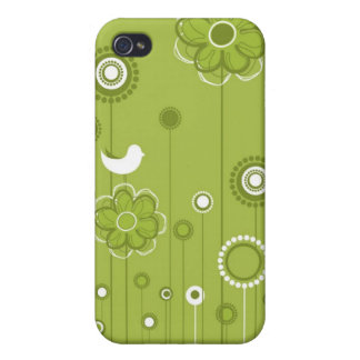 Summer Flowers i Case For iPhone 4
