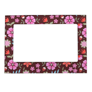 Summer Flowers Magnetic Frame