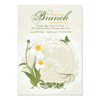 Summer Flowers Mother's Day Invitation