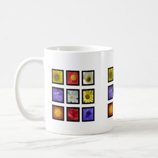 Summer Flowers Mug mug