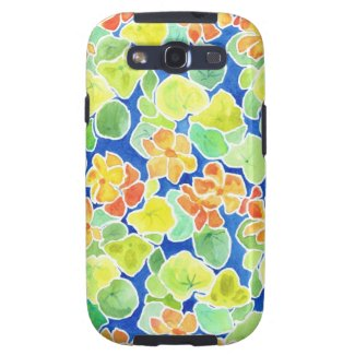 Summer Flowers Samsung Galaxy S3 Vibe case, Galaxy S3 Covers