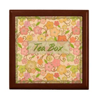 Summer Flowers Tea Box