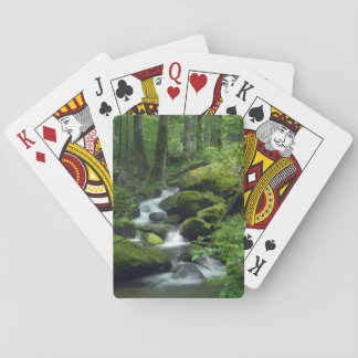 Summer Forest Brook Playing Cards