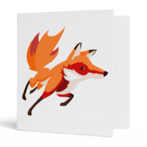 Summer Fox Binder