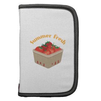 Summer Fresh Tomatoes Folio Planners