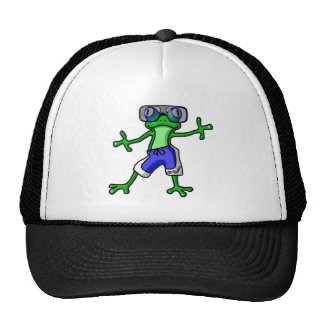 Summer Frog Hat
