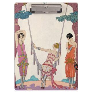 Summer, from 'Gazette du Bon Ton', 1925 Clipboard