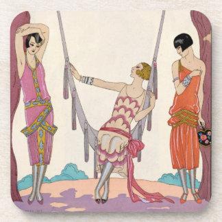Summer, from 'Gazette du Bon Ton', 1925 Coaster
