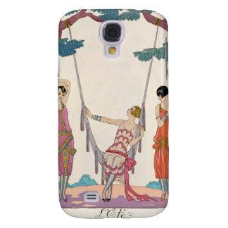 Summer, from 'Gazette du Bon Ton', 1925 Galaxy S4 Cover