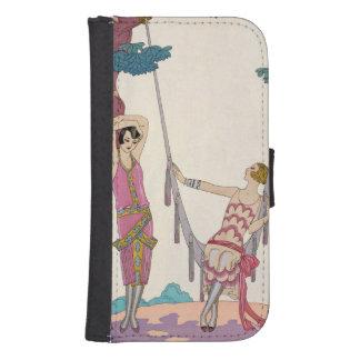 Summer, from 'Gazette du Bon Ton', 1925 Galaxy S4 Wallet