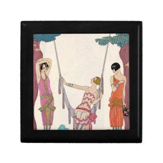Summer, from 'Gazette du Bon Ton', 1925 Jewelry Box