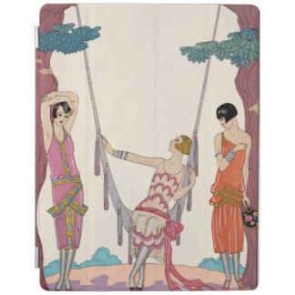 Summer, from 'Gazette du Bon Ton', 1925 iPad Cover