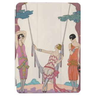 Summer, from 'Gazette du Bon Ton', 1925 iPad Air Cover