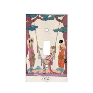 Summer, from 'Gazette du Bon Ton', 1925 Light Switch Plate