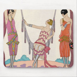 Summer, from 'Gazette du Bon Ton', 1925 Mouse Pad