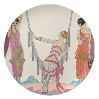 Summer, from 'Gazette du Bon Ton', 1925 Dinner Plate