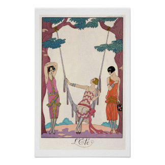 Summer, from 'Gazette du Bon Ton', 1925 Posters