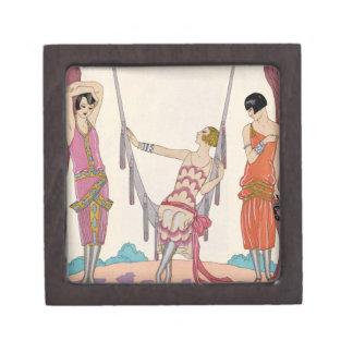 Summer, from 'Gazette du Bon Ton', 1925 Premium Jewelry Boxes