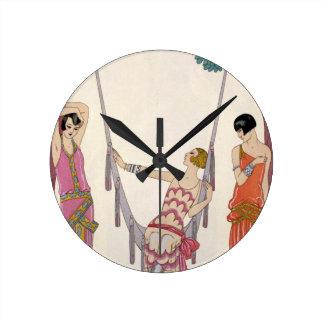 Summer, from 'Gazette du Bon Ton', 1925 Round Clock