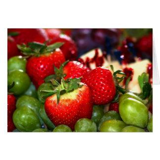 Summer Fruit Greeting Card