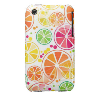 Summer Fruit Colors iPhone 3 Case Mate
