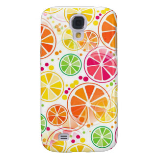 Summer Fruit Colors - Samsung Galaxy S4 Case