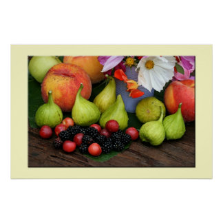 Summer Fruit Medley Poster