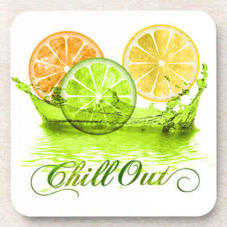 Summer Fruit Splash ID165 Drink Coaster