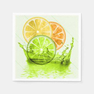 Summer Fruit Splash ID165 Paper Napkin