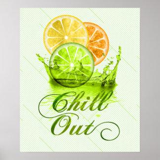 Summer Fruit Splash ID165 Poster