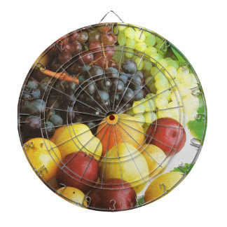 Summer fruit to enjoy dart board