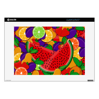 "Summer fruits skin for 15"" laptop"