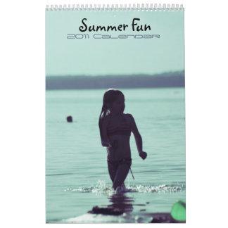 Summer Fun 2011 calendar