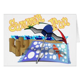 Summer Fun at the Beach Card