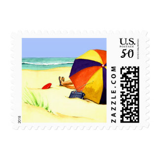 Summer Fun at the Beach Postage