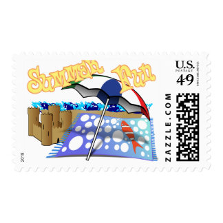 Summer Fun at the Beach Stamps