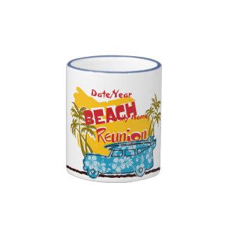 Summer Fun Beach Family Reunion Customizable Mug