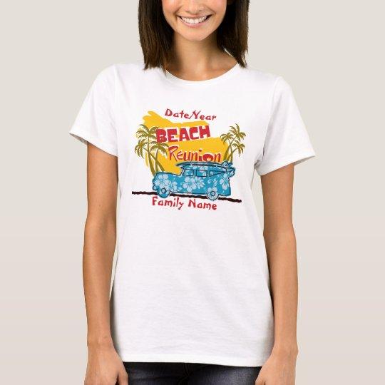 Summer Fun Beach  Family Reunion T-Shirt