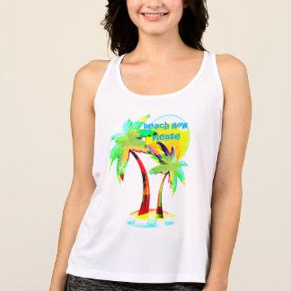 summer fun beach now party hard palm tree top