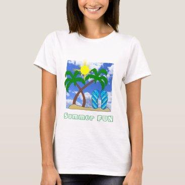 Beach Themed Summer Fun Beach Theme T-Shirt
